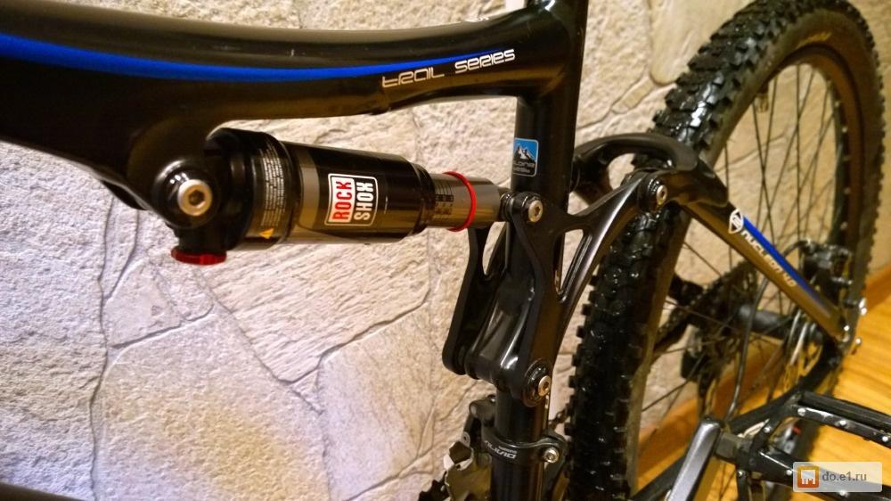 Преимущества и недостатки двухподвесных велосипедов