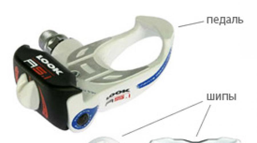 Выбираем контактные педали для шоссейного велосипеда