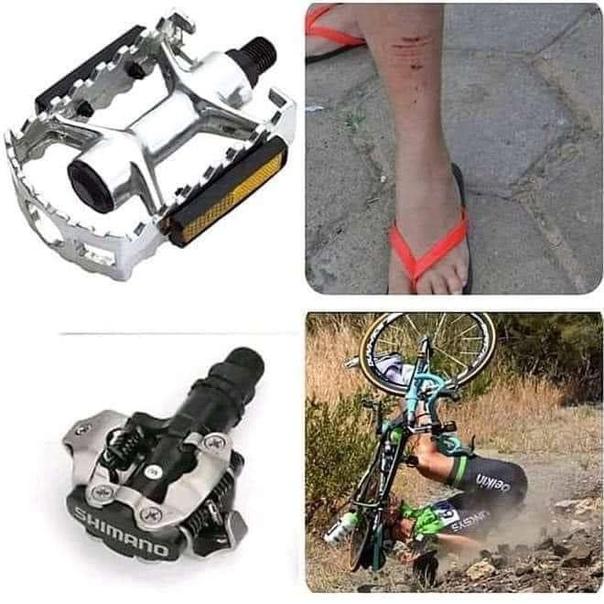 Какие педали выбрать для велосипеда?   crazy-riders.ru - велосипедный блог