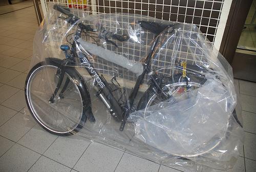Как перевозить велосипед в самолёте