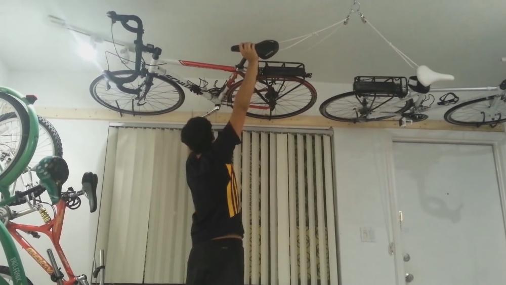 Как сделать велосипед креплением на стену своими руками - myprofnastil