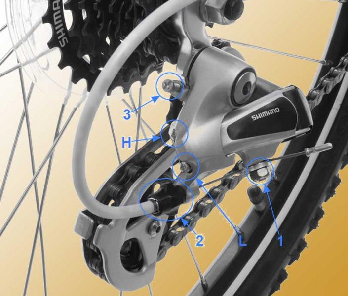 Все о заднем переключателе скоростей велосипеда выбор,конструкция обслуживание