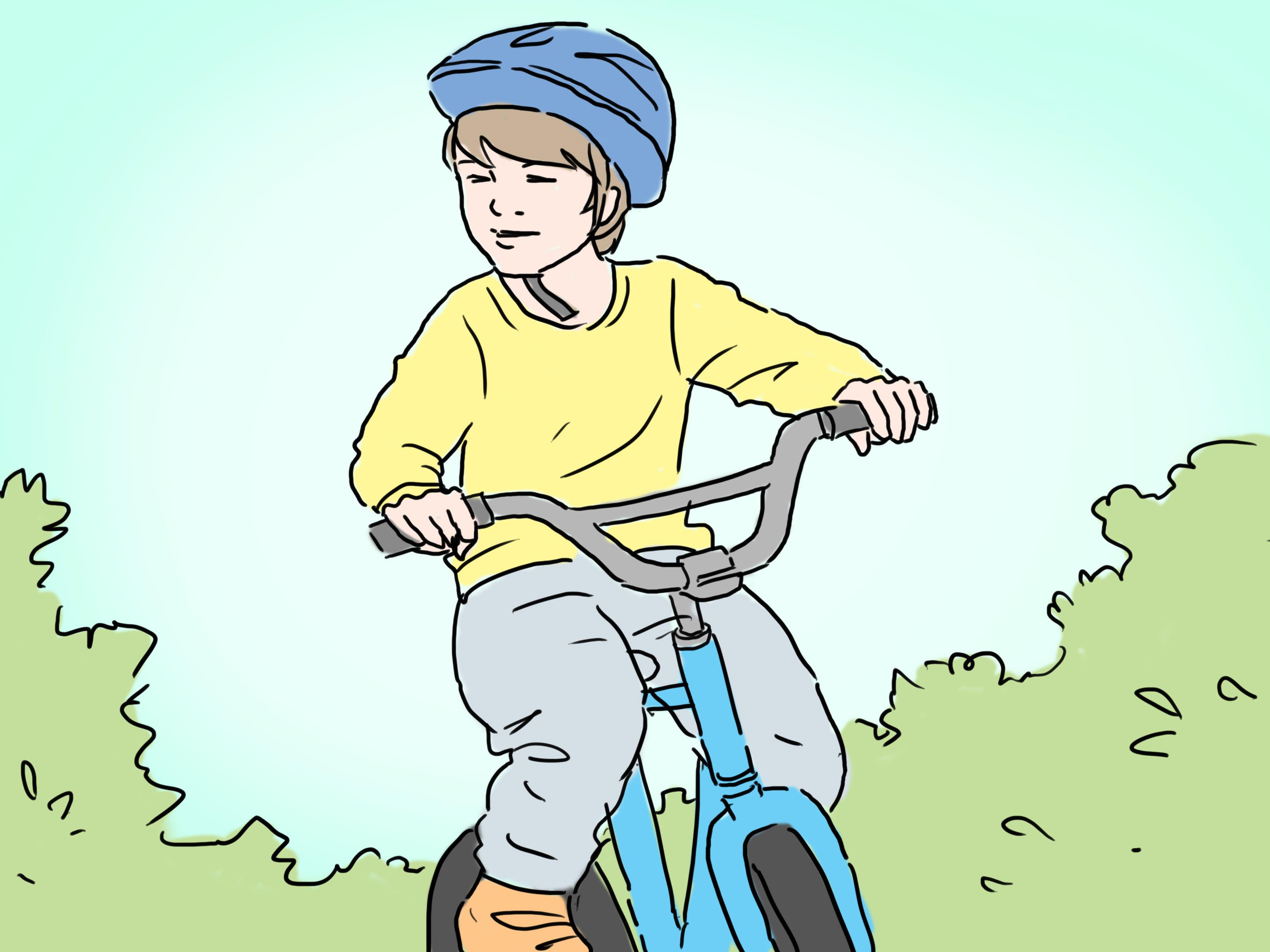 Как безопасно ездить на велосипеде (с иллюстрациями)