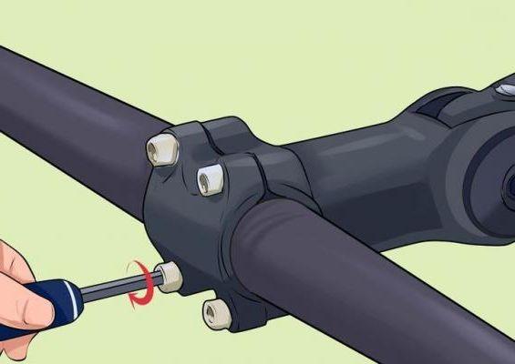 Как отрегулировать высоту руля велосипеда?