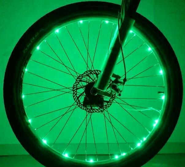 Подсветка велосипеда светодиодной лентой: инструкция, фото