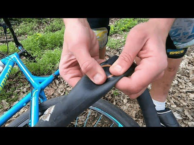 Как заклеить камеру велосипеда или автомобиля в домашних условиях