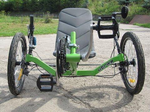 Трехколесный велосипед для взрослых (типы, виды, особенности)