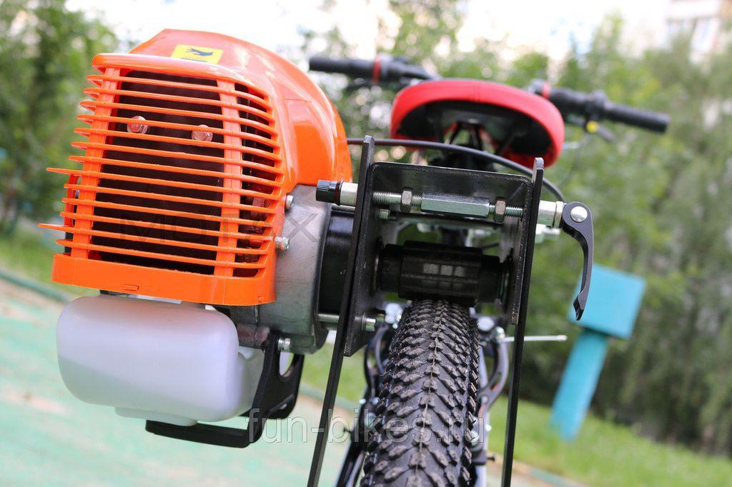 Велосипед с бензиновым мотором: цена, как сделать своими руками