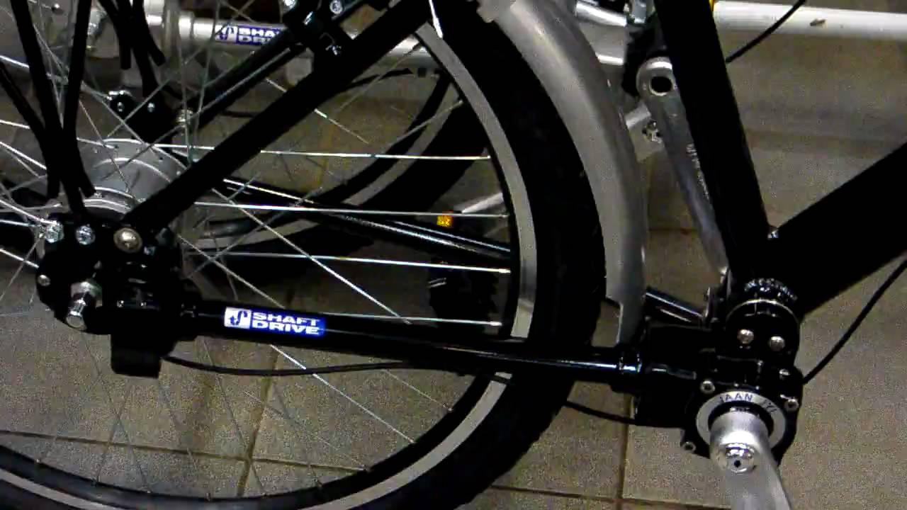 Велосипед с вальным приводом