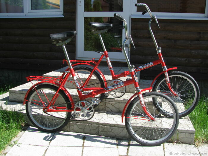Основные отличия советских велосипедов от современных