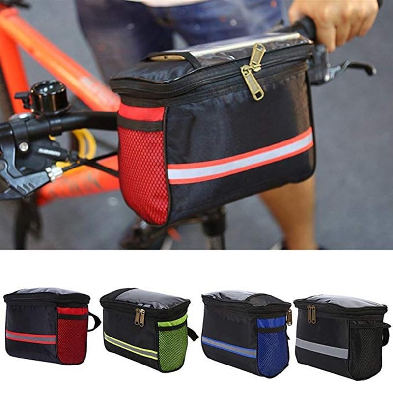 Функционал сумок на руль велосипеда и их основные особенности