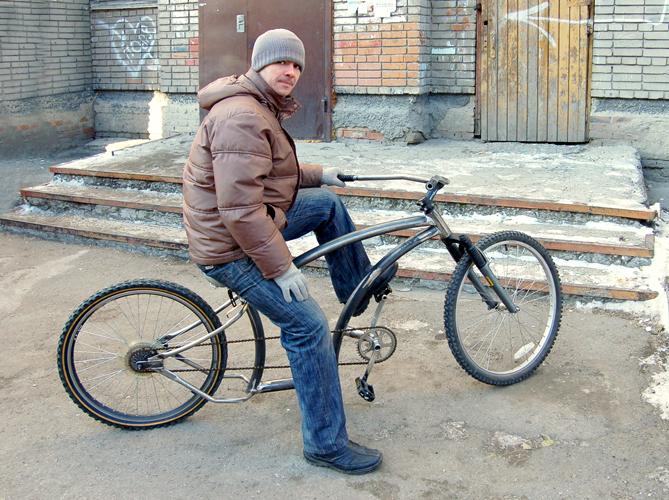 Как сделать одноколёсный прицеп для велосипеда своими руками