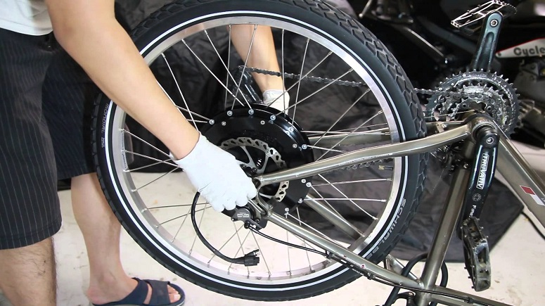 Как разобрать мотор колесо электровелосипеда: пошаговая инструкция [2019]