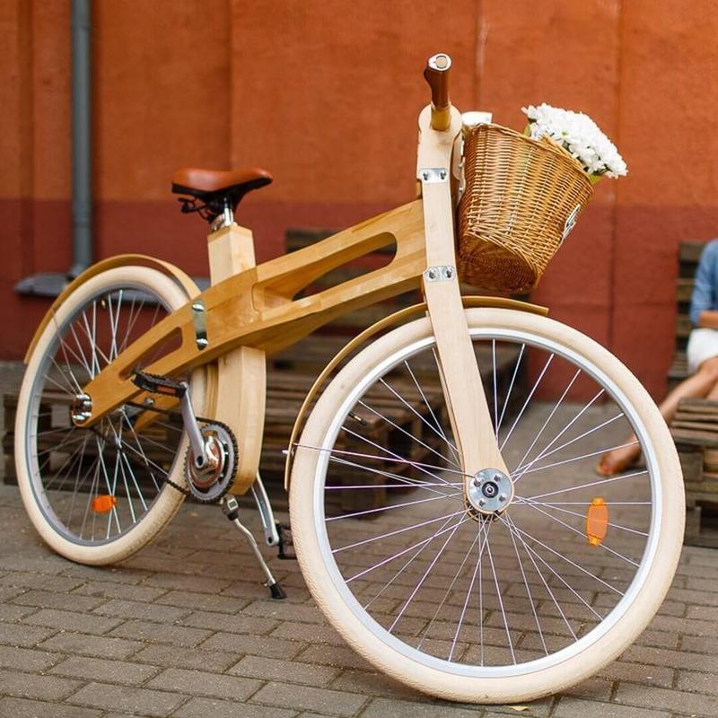 Как сделать самому велосипед из дерева