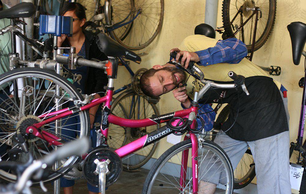 Ремонт горного велосипеда своими руками