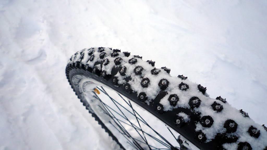 Как сделать шипованную зимнюю резину на велосипед. шиповка шин своими руками. шипованные шины для велосипеда своими руками ошиповка велосипедных шин