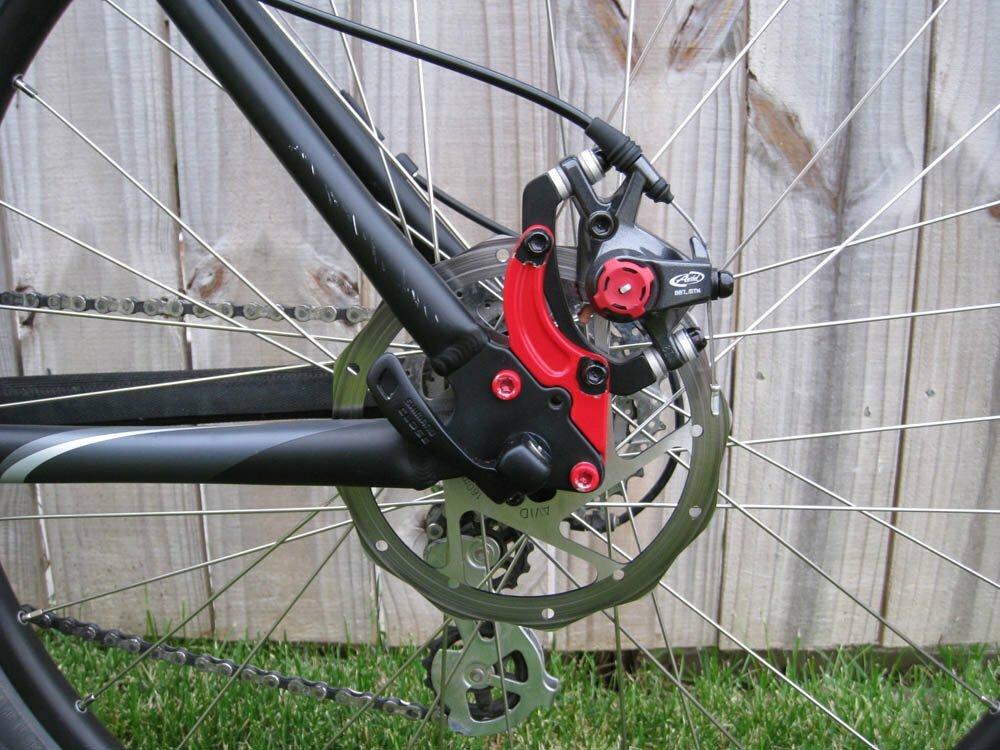Как поставить дисковые тормоза на велосипед самостоятельно