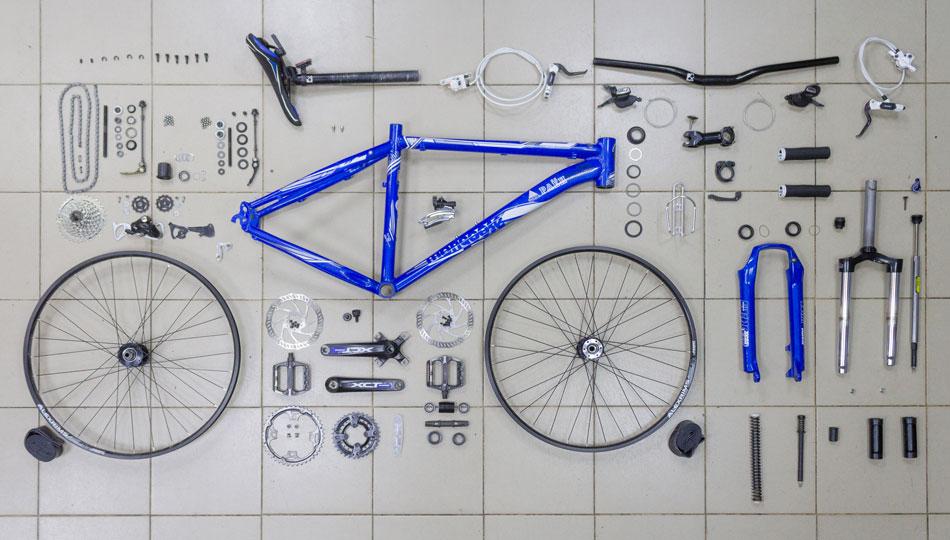 Сборка нового велосипеда из коробки и обслуживание после покупки