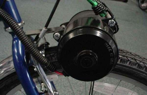 Что такое мотор-колесо для велосипеда