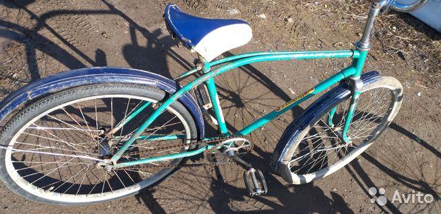 """Дорожный складной велосипед 114—912 """"салют″"""