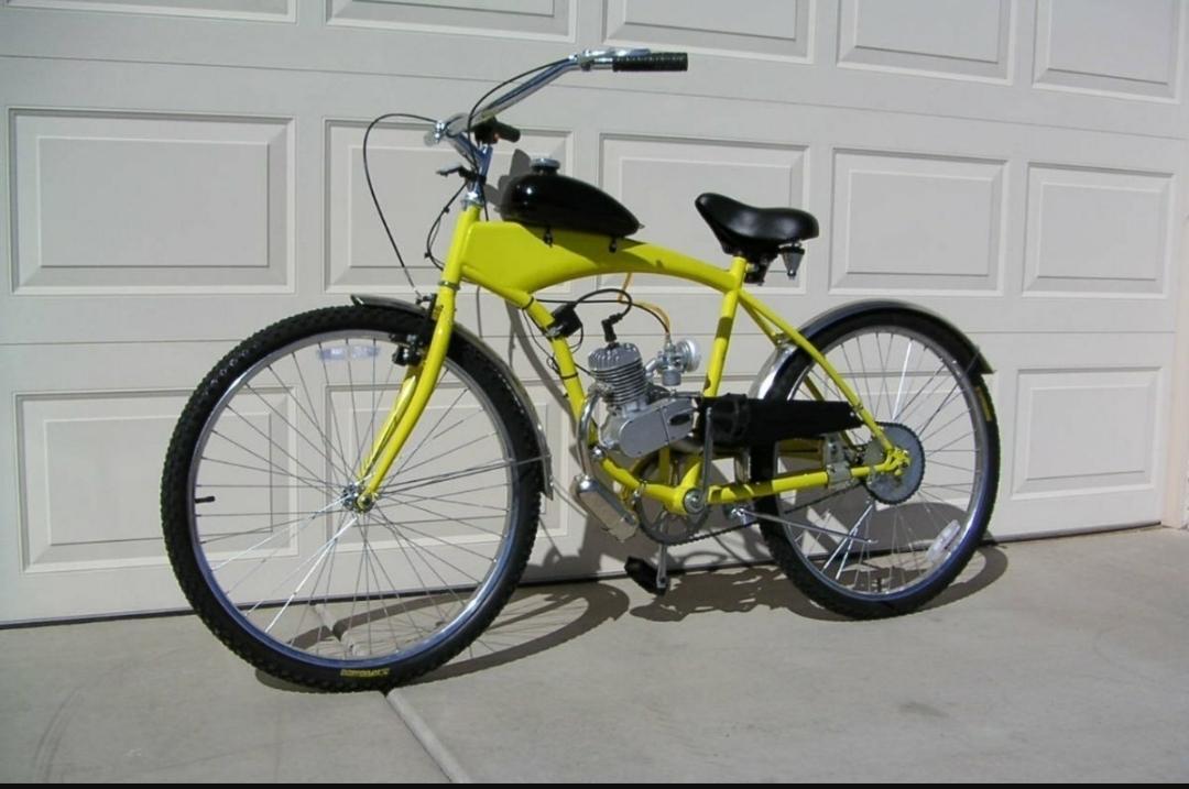 Велосипед с мотором и бензиновые двигатели для велосипедов