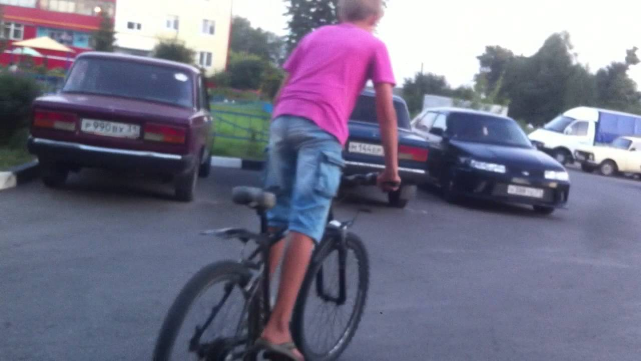 Как снять заднее колесо на скоростном велосипеде