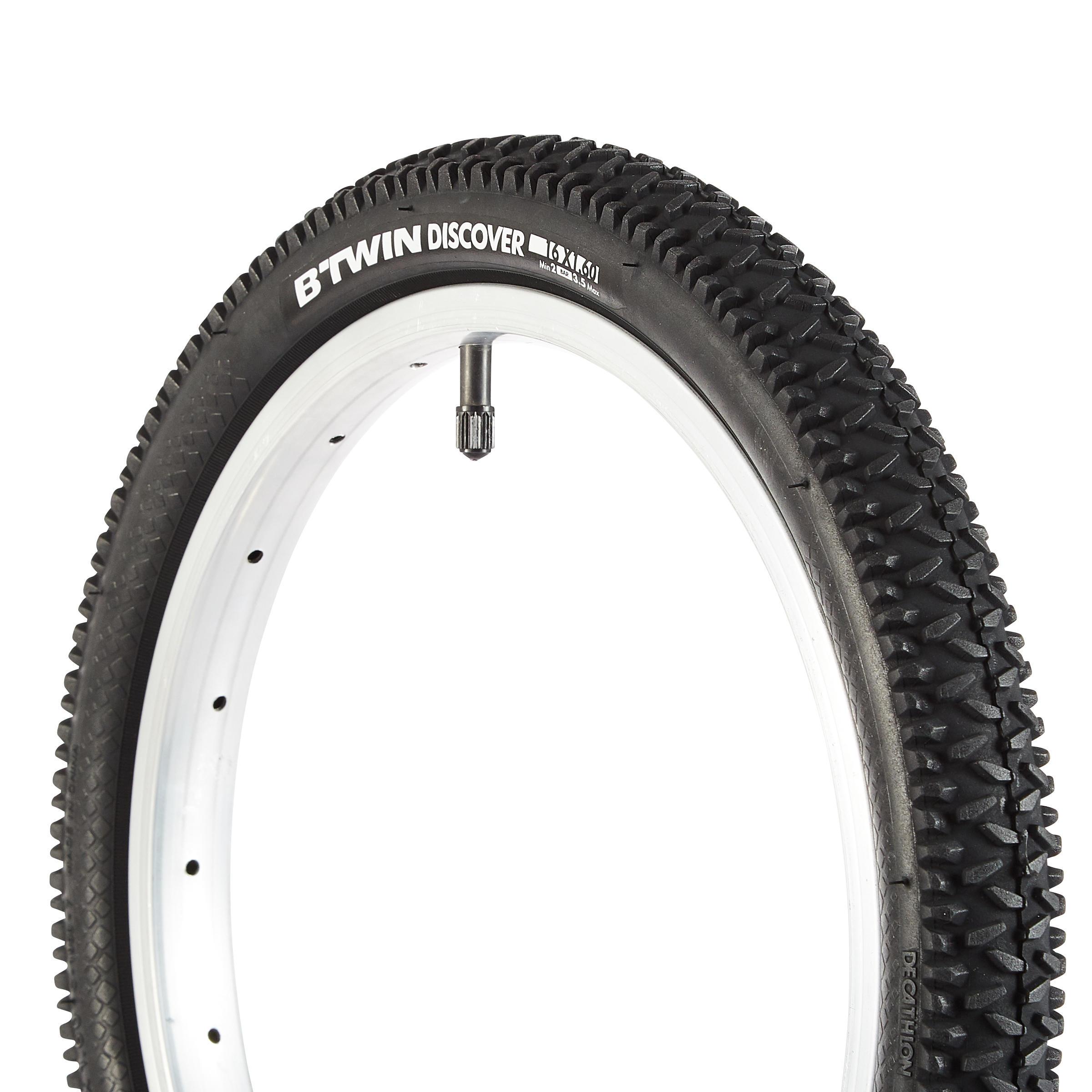 Размеры велосипедных шин: как измерять диаметр колеса?