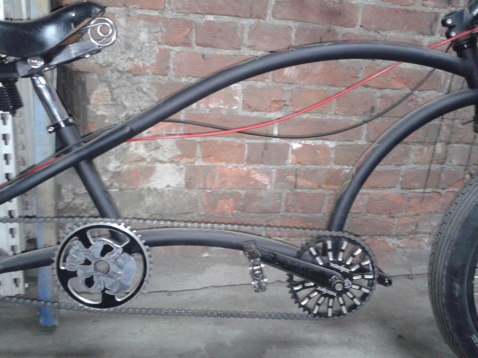Безотходные идеи садового дизайна: используем старый велосипед